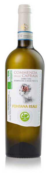 fiano sannio dop vino biovegan commenda della capraia